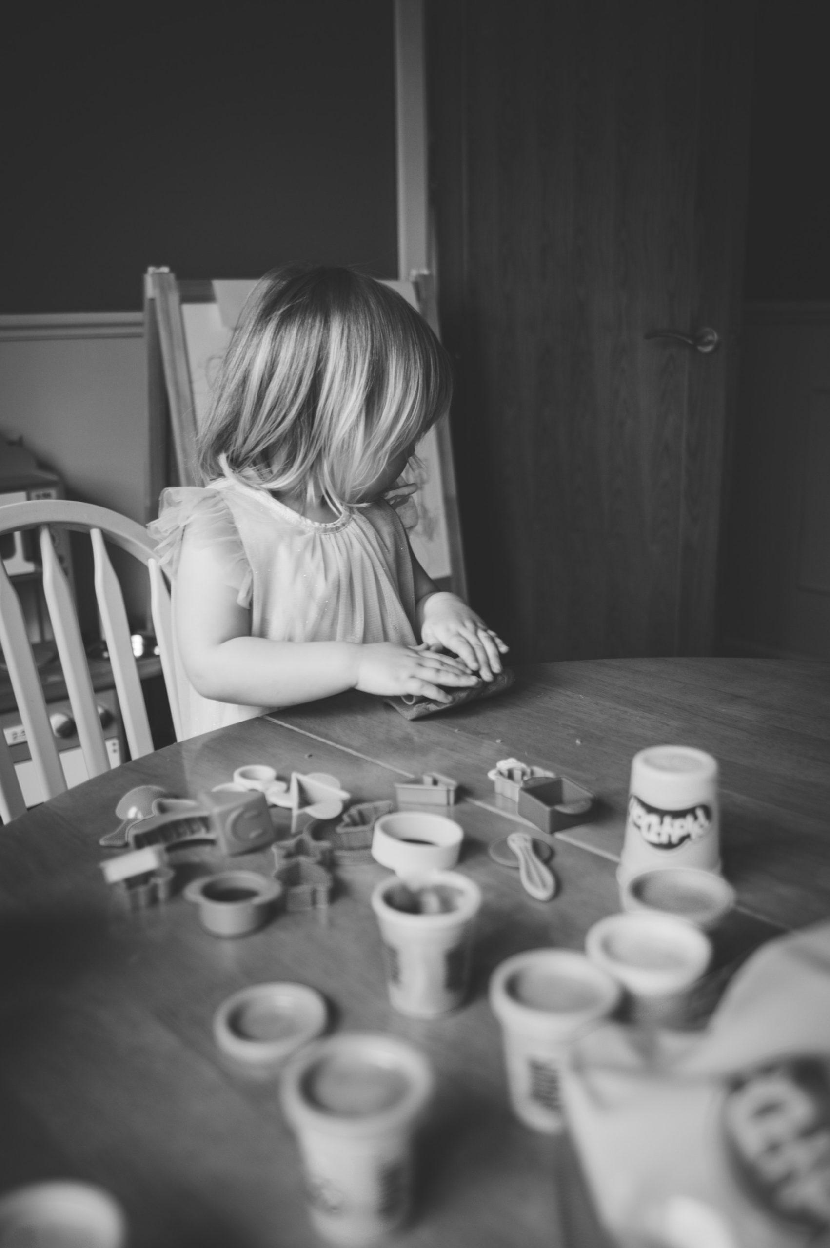 Lily Smartt O'Keffee PlayDoh Well Fed Photography
